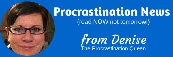 Denise Procrastination Header